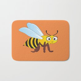 Becky the Bee Bath Mat