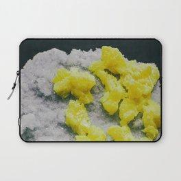 Sulfur on Celestine Laptop Sleeve