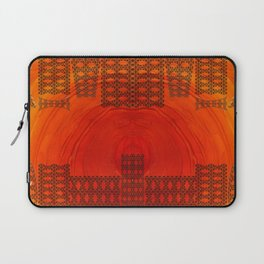 City in a morning Laptop Sleeve