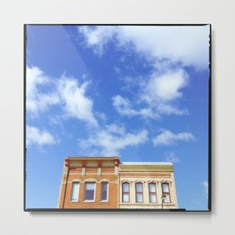 """""""you're standing on our streets"""" Metal Print"""