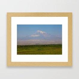 MT ARARAT-ARMENIA Framed Art Print