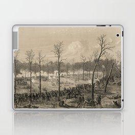 American Civil War: The Battle of Shiloh by Alfred Edward Mathews (1862) Laptop & iPad Skin