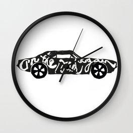 1969 Chevrolet Camaro Wall Clock