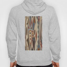 African Tribal Pattern No. 61 Hoody