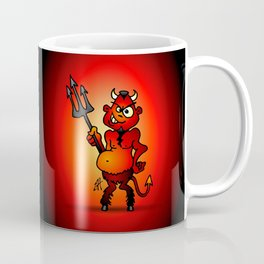 Fat red devil Coffee Mug