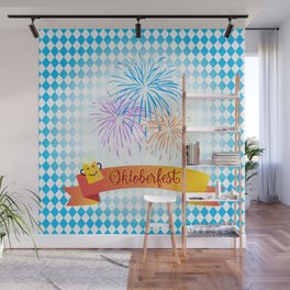 Happy Oktoberfest Festival Decoration Gifts and Presents Wall Mural