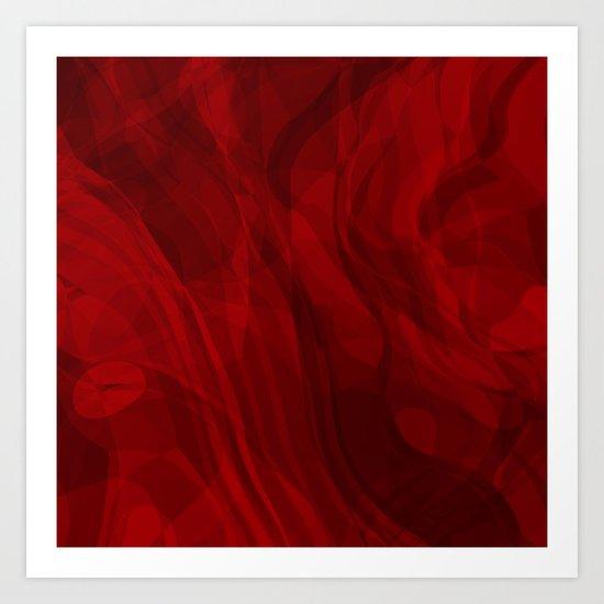 Love Flows Gently Art Print