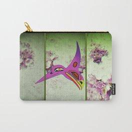 Hummingbird/Eagle Shoji Screen Carry-All Pouch