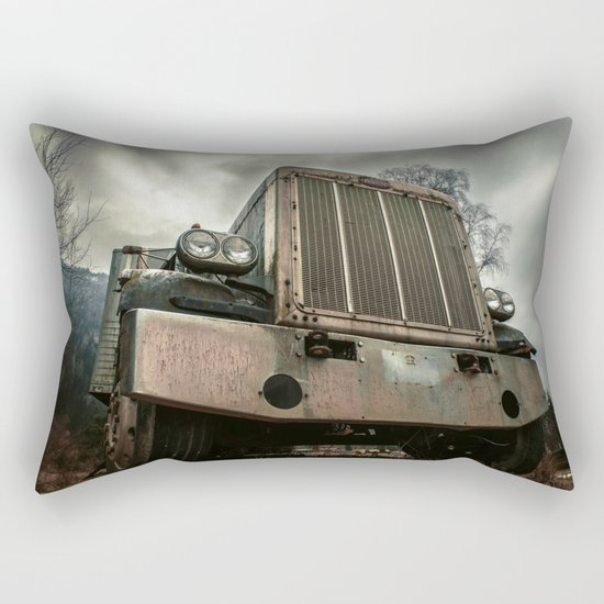 Rusty Warrior Rectangular Pillow