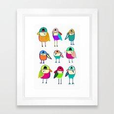 Little Owls. Framed Art Print
