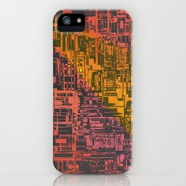 Where Are YOU / Density Series iPhone Case