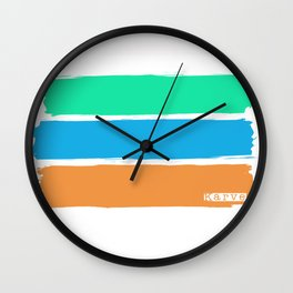 Reminds me of the sea... Wall Clock