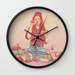 Signe du rat Wall Clock