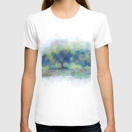 Blue Trees, Yellow Kisses T-shirt