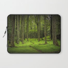 A Woodland Path in Cades Cove Laptop Sleeve