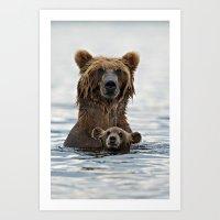 BEARS!!! Art Print