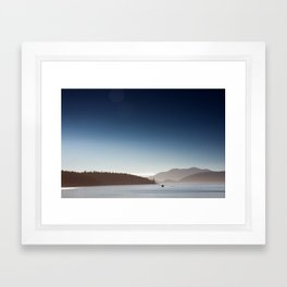 San Juan Islands Framed Art Print
