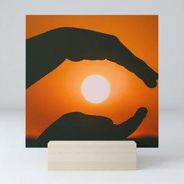 Playing With The Sun Mini Art Print