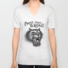 PROVE THEM WRONG Unisex V-Neck