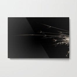 Spark Abstraction Metal Print