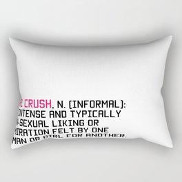 Girl Crush Rectangular Pillow