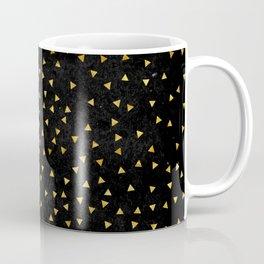 Gold triangles pattern Coffee Mug