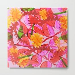 Hummingbirds nest Metal Print