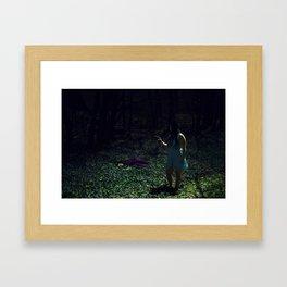Film Couleur Framed Art Print