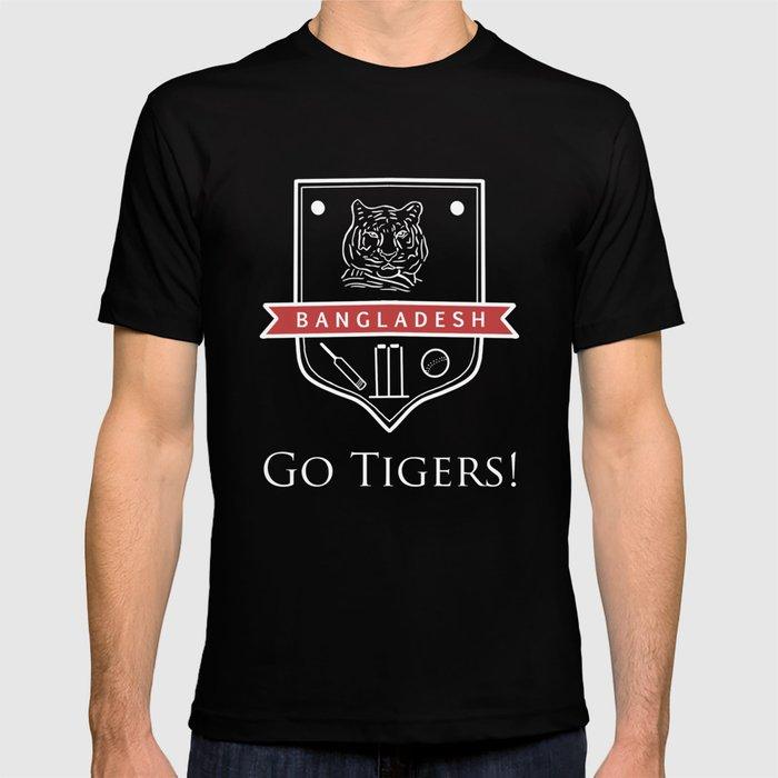Cricket Bangladesh: Go Tigers T-shirt