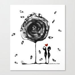 """L'amore accade"" Canvas Print"