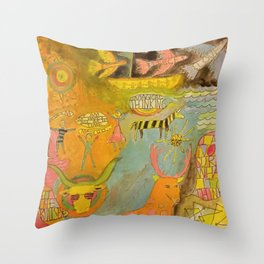 Magical Thinking Throw Pillow