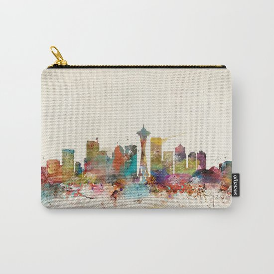 seattle washington  Carry-All Pouch