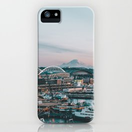 Seattle & Mount Rainier iPhone Case