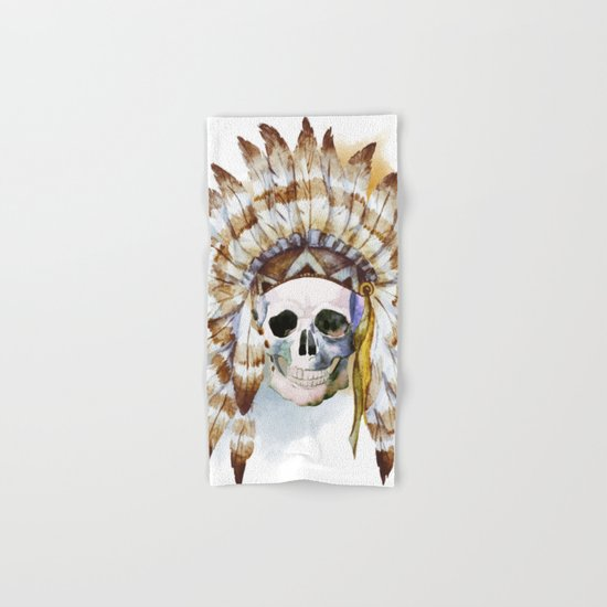 Skull 02 Hand & Bath Towel