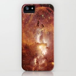 Star Clusters Space Exploration iPhone Case