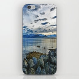 Dusk over South Bay, New Zealand iPhone Skin