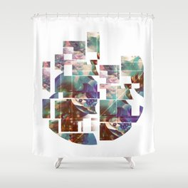 Abstract Expressions Shower Curtain