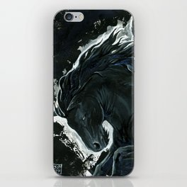 Dark Pegasus iPhone Skin
