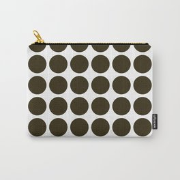 Café Mocha Neutral Dots Carry-All Pouch