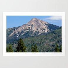 Hahn's Peak Art Print