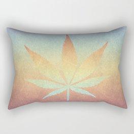Cannabis sativa Rectangular Pillow