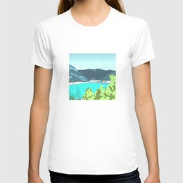 Calm panorama T-shirt