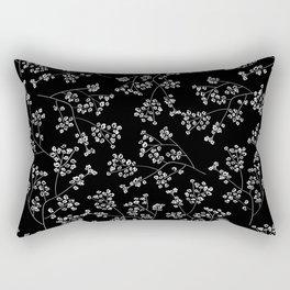 Gisophila black Rectangular Pillow
