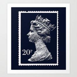 Queen 20p Art Print