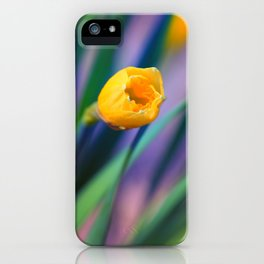 Itsy Bitsy Daffodil Bloom iPhone Case