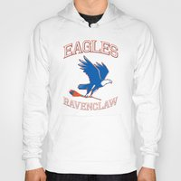 ravenclaw Hoodies featuring Eagles Ravenclaw by Fresco Umbiatore