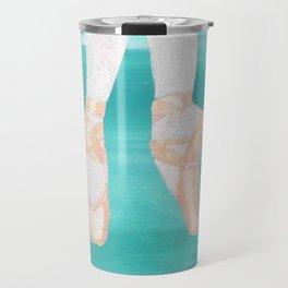 BALLET SLIPPERS ON POINT Travel Mug