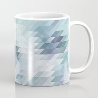 polygon Mugs featuring Polygon by Boho déco
