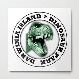 Dinosaur Park Metal Print