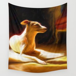 Sophie in the sun Wall Tapestry